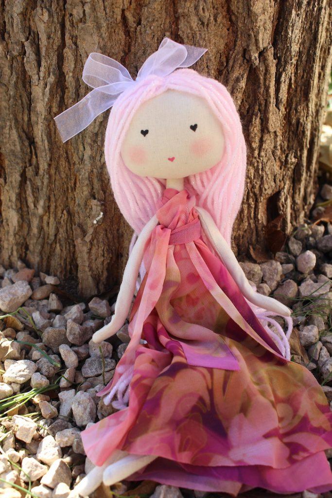 kit DIY poupée en tissu à faire soi même