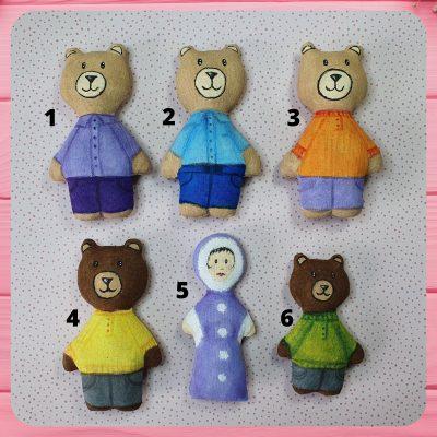 petit ours peint