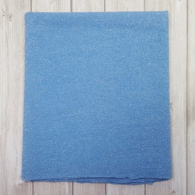 tissu stretch bleu