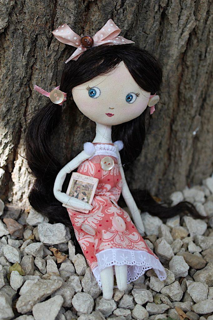 poupée en tissu style vintage