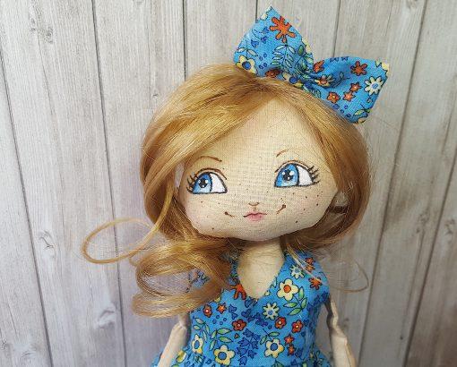 kit robe poupée ambre