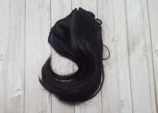cheveux pour poupée brun