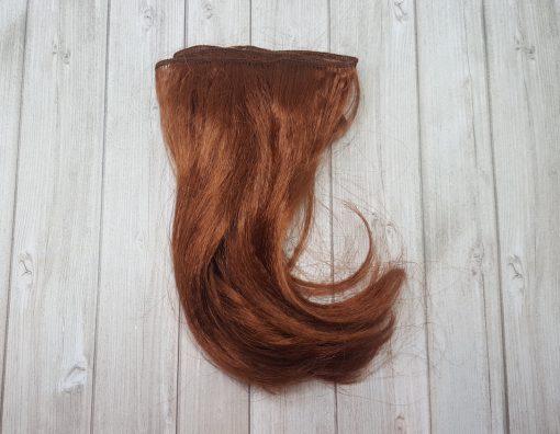 cheveux pour poupée roux