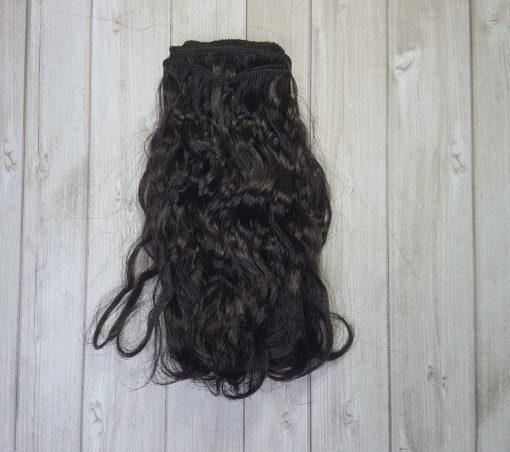 mèche cheveux bouclé