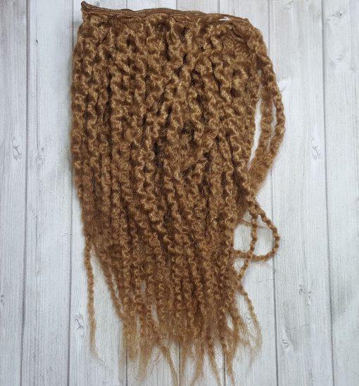 cheveux ondulés blond long