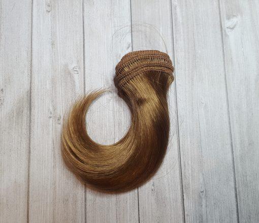 mèche cheveux blond roux