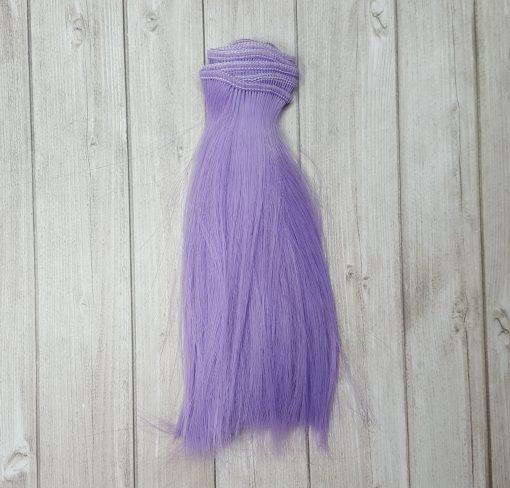 mèche de cheveux violet