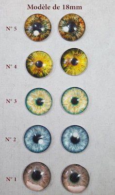 eyechip à coller 18mm