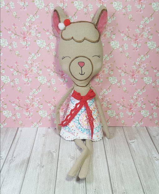 kit poupée lama
