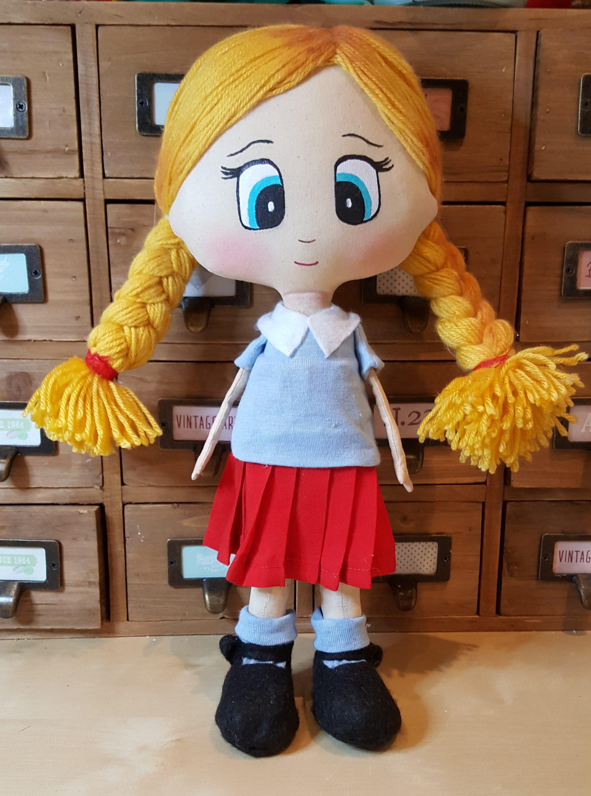 poupée personnalisée sur commande