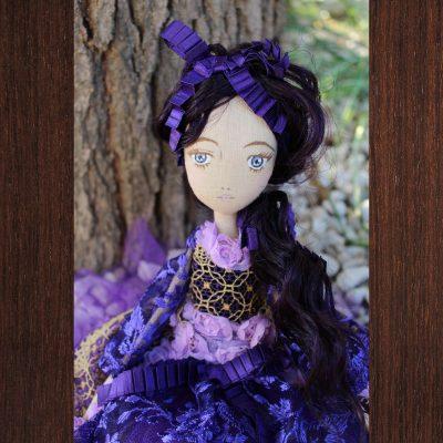 poupée lolita doll violette