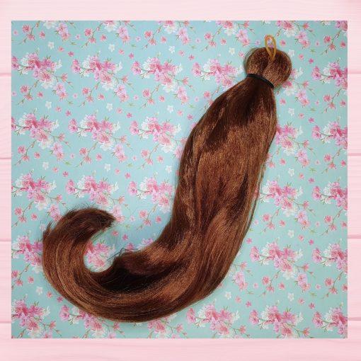 mèche cheveux auburn