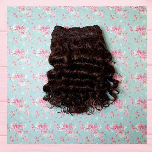 mèche cheveux brun