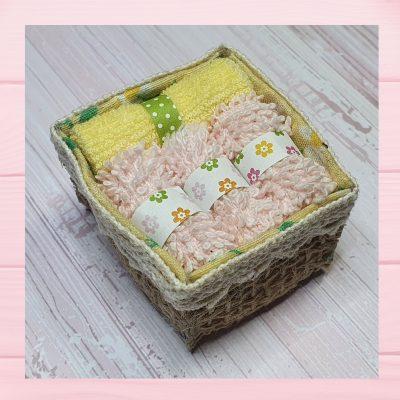 miniature panier serviettes